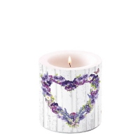 Candles small Purple Heart