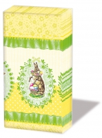 handkerchiefs Nostalgic Easter Yellow