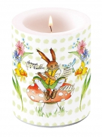 candele Easter Song Green