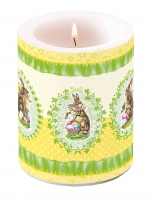 Candles Nostalgic Easter Yellow