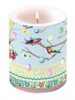 candele Candle Big Easter Branch