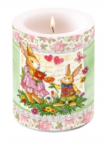 candele Candle Big Dear Mum Green