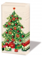 handkerchiefs - Christmas tree
