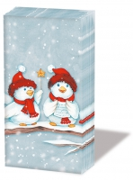 handkerchiefs - X-Mas Birds