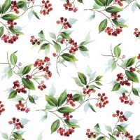 Cocktail napkins Winter Foliage