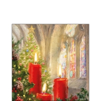 Napkins 25x25 cm - Candles In Church