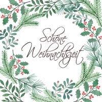 Napkins 25x25 cm - Schöne Weihnachtszeit