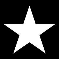 Lunch Servietten STAR BLACK