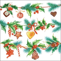 Lunch napkins Holiday Deco