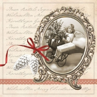Lunch napkins Christmas Letter