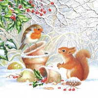 Lunch napkins Winter Picture
