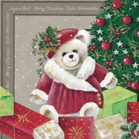 Lunch napkins Christmas Bear
