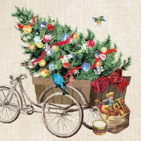 Lunch napkins Cargo Bike