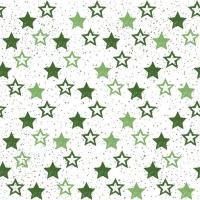 Lunch Servietten Stars All Over Green