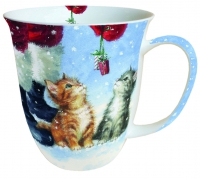 porcelain cup Mug 0.4 L Two Small Presents