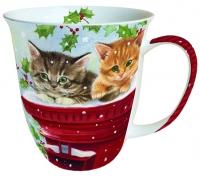 porcelain cup Mug 0.4 L Postmasters