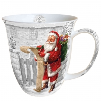 taza de la porcelana Wish List