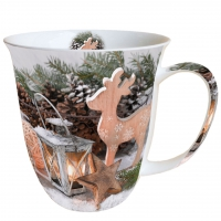 taza de la porcelana Winter Time