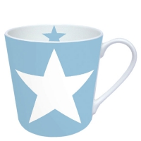 porcelain cup Star Light Blue