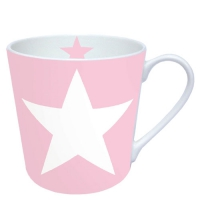 porcelain cup Star Rose