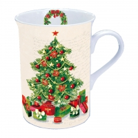 porcelain cup Christmas Tree