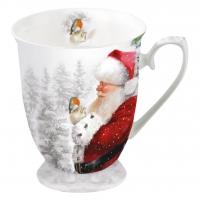 Porzellan-Tasse - Es Robin zu sagen