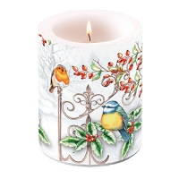 candele Birds & Holly