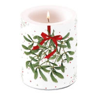 Candles Mistletoe