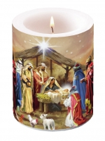 candele Nativity Collage