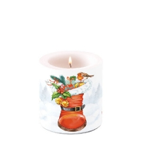 Candles small Christmas Boot