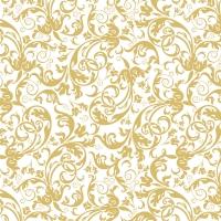 Tovaglioli 33x33 cm - Oro di lusso