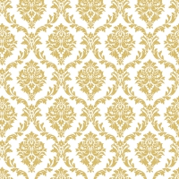 Servietten 33x33 cm - Elegantes Gold