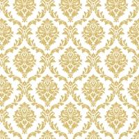 Napkins 33x33 cm - Elegant gold