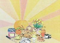 100 Tischsets Dunicel® 30 x 40 cm Ein schöner Tag