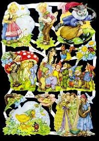 Glanzbilder M?rchen Mix I,50er Jahre