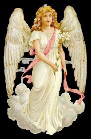 Glanzbilder Weißer Engel