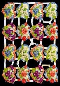 Glanzbilder 16 Blumenherzen,Jugendtr.
