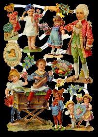Glanzbilder Mozartkinder,Jugendtraum