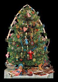 Glanzbilder Weihnachtsbaum