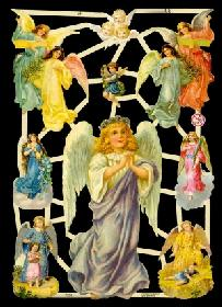 Glanzbilder Engel,Jugendtraum