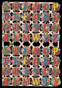 Glanzbilder Buchstaben,Jugendtraum