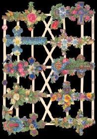 Glanzbilder Kreuze,Jugendtraum