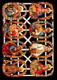 Glanzbilder 8 Heilige