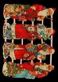 Glanzbilder Weihnachtsmann
