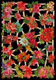 Glanzbilder Sommerblumen