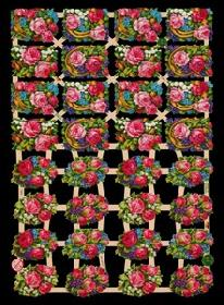 Glanzbilder Blumen
