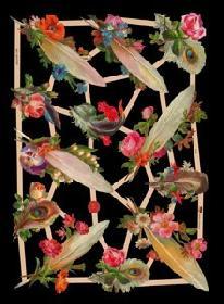 Glanzbilder - piume
