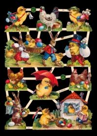 Scrap reliefs Ostern
