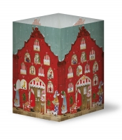 advent Calendar Rotes Haus