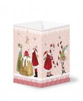 Calendrier de l ´Avent Weihnachtsmann mit Zuckerstange